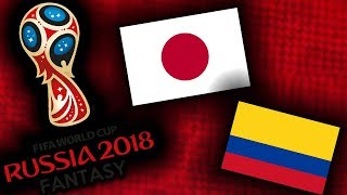 2018 RUSSIA FANTASY VB   JAPÁN - KOLUMBIA