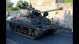 Tank parade DDAY 2019 (Sherman Priest M26 Pacific)
