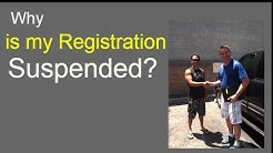 Why Is My Vehicle Registration Suspended? | All In One VRS