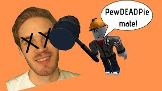 Roblox bans PewDiePie... then unbans him...