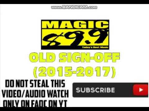 (DWTM-FM) Magic 89.9 Old Sign-Off