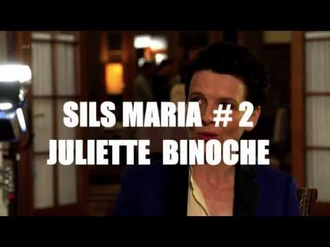 "Juliette Binoche | Interview from the set of ""Clouds Of Sils Maria"""