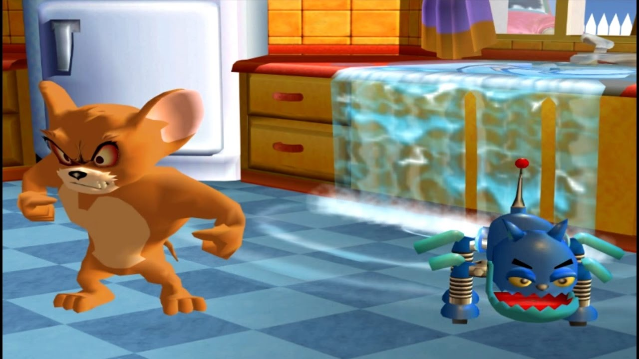 Tom and Jerry War of the Whiskers - Tom and Jerry vs Monster Jerry - Fun Video Games for Kids HD