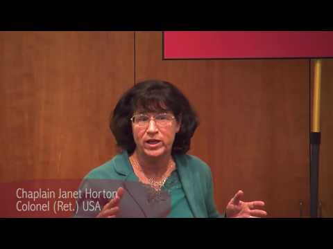 Women in Military Ministry - Janet Horton on Separation of Church and State