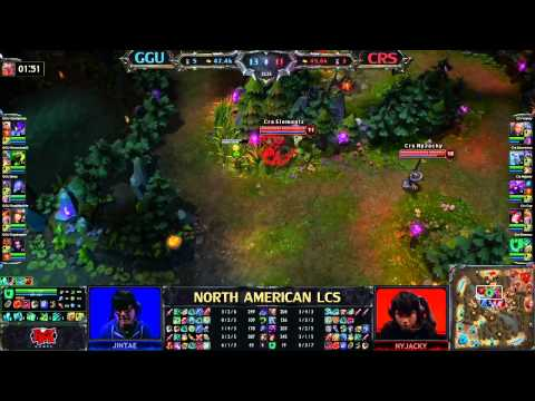 GGU vs CRS - LCS 2013 NA Spring W8D1 (English)