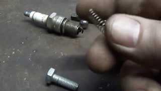 как сделать предохранительный клапан для компрессора