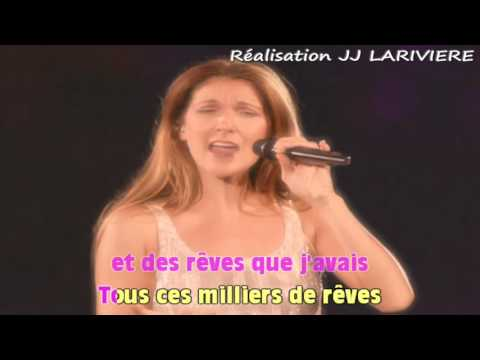 CELINE DION   ON NE CHANGE PAS I G JJ Karaoké Karaoké - Paroles