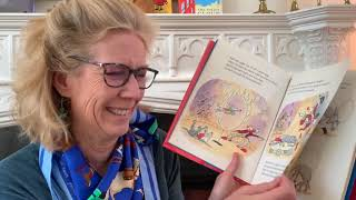 Ms  Sloan Reads Circus Family Dog by Andrew Clements