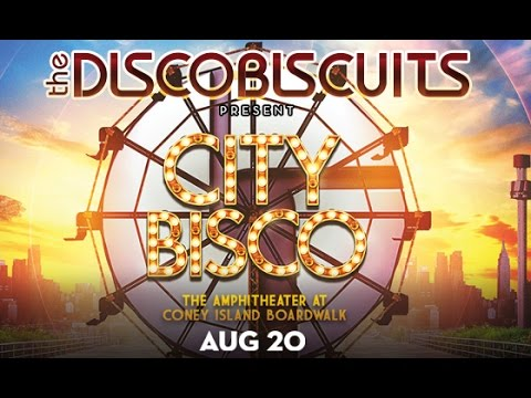 The Disco Biscuits 8/20/16 Live at The Amphitheater at Coney Island Boardwalk
