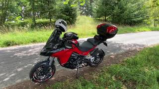 Out on The Multistrada 1260S - Roadside Chat and Break