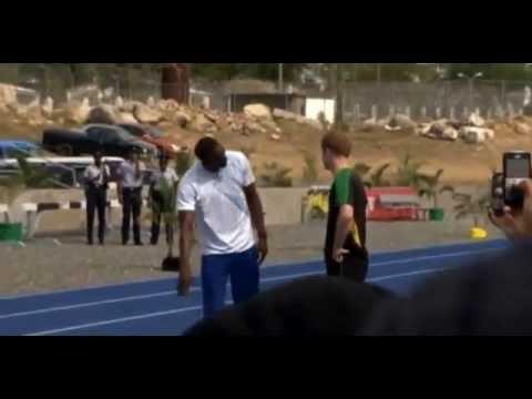 When Prince Harry Trolls Usain Bolt