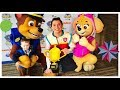 Paw Patrol LIVE Race to the Rescue. VIP Party after show with Skye, Chase & Ryder