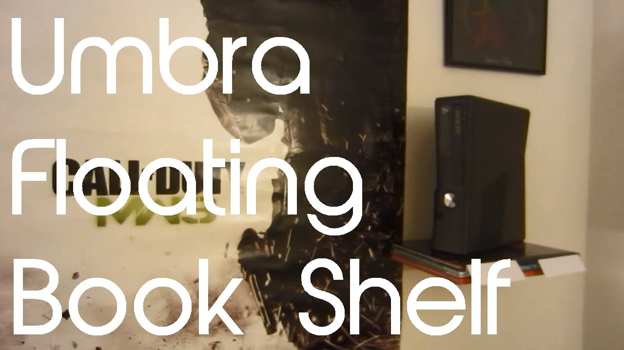 Umbra Conceal Floating Book Shelf Unboxing U0026 First Look   YouTube Awesome Design