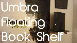 Umbra Conceal Floating Book Shelf Unboxing & First Look