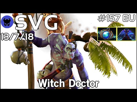 Support SVG [FWD] plays Witch Doctor!!! Dota 2 7.20