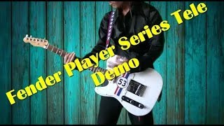 Fender Player Series Telecaster Demo