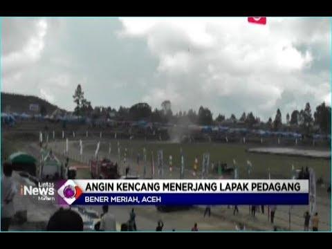 Puting Beliung Porak Porandakan Arena Pacuan Kuda di Bener Meriah Aceh, 4 Orang Terluka - LIM 07/01