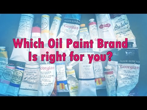 What oil paint brands should you buy? Advice from a realism painter