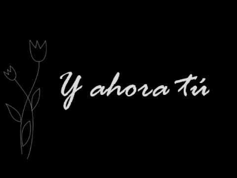 Malú Ahora tú Letra) (Amores Verdaderos) - YouTube