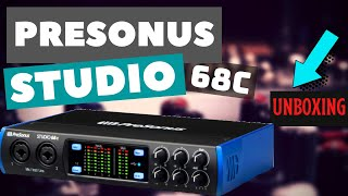 PreSonus STUDIO 68c USB Audio Interface unboxing / review HOME STUDIO
