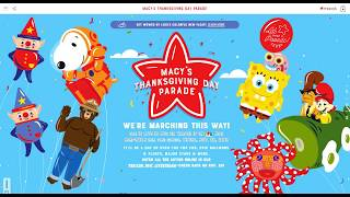 Macy's Thanksgiving Day Paŗade 2019 Verizon 360 livestream, NBC Coverage Time Balloons, Route Info