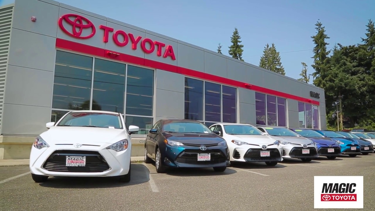 Magic Toyota Dealer In Edmonds Wa