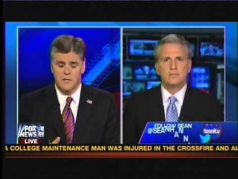 House Majority Whip Kevin McCarthy on Fox News