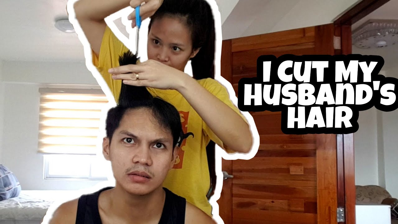 I Cut my Husband's Hair 💇‍♂️ (SINO PIKON LOL!) / Aly Balane