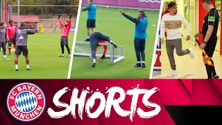 NBA-Pro Thomas Müller & Dance Instructor Xabi Alonso | FC Bayern Shorts Vol. 20
