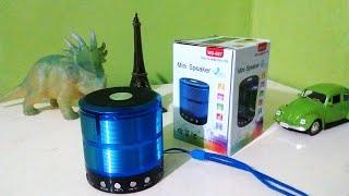 UNBOXING E REVIEW WS-887 MINI SPEAKER [ JP_PROD´S ] MP3,MÚSICA,SOM :)