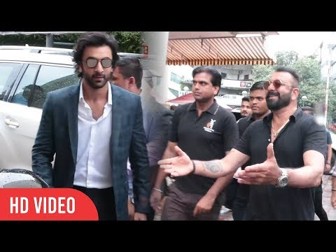 Sanju Baba And Ranbir Kapoor At Bhoomi...