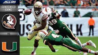 Florida State vs. Miami Condensed Game | 2018 ACC Football
