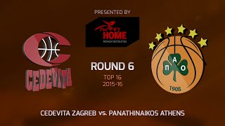 Highlights: Cedevita Zagreb-Panathinaikos Athens