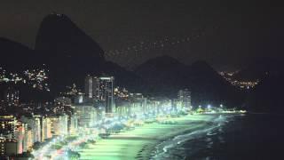 Pan Of Rio De Janeiro Coastline In Brazil
