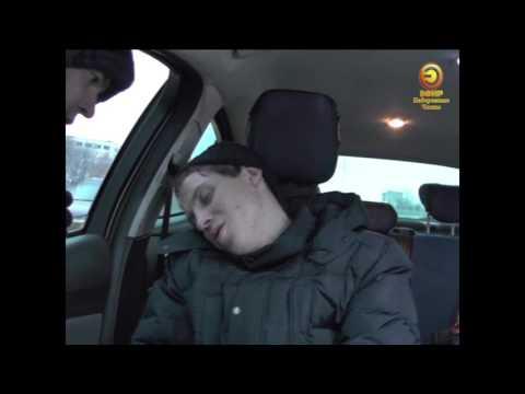 Пьяный водитель из Челнов стал героем федеральных СМИ (ВИДЕО)