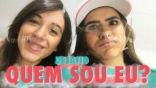 DESAFIO QUEM SOU EU? ft. Carol Santina