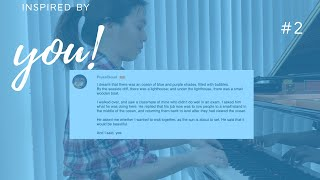 Belle Chen - Piano Improvisation - Inspired by You #2 'Let's Wait for the Sunset, It'd Be Beautiful'