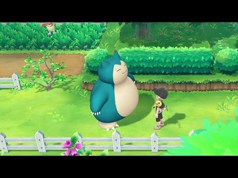 Grumpy Snorlax - Let's Go Pikachu With Haydunn Part 16
