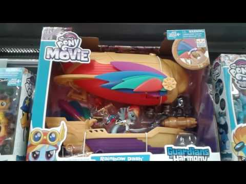 A Walmart Exclusive For The My Little Pony Movie, Rainbow Dash's Swashbuckler Pirate Airship