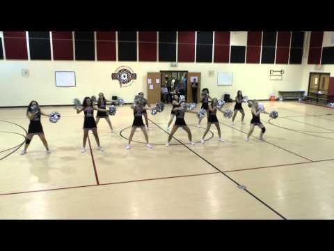 2014 - 2015 IPS High School Cheer Rehearsal 2