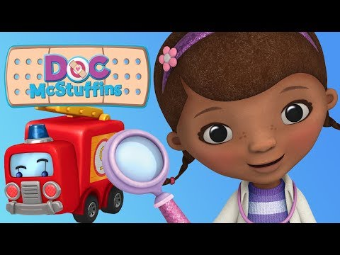 Doc McStuffins - Toys Rescue Docs Mobile Clinic -  Disney Junior Game For Kids