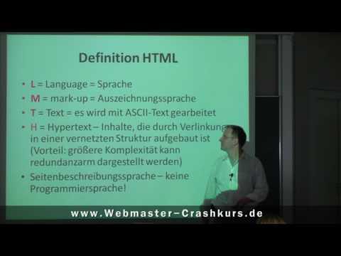 HTML Tutorial Deutsch: Warum HTML Lernen? - Erster HTML-TAG Für Absatz