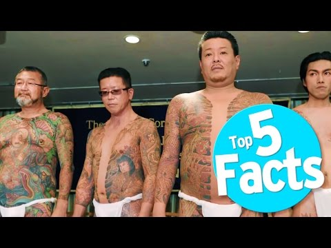 Top 5 Yakuza Facts