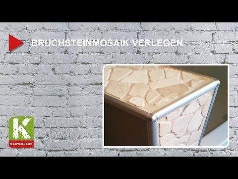Bruchsteinmosaik verlegen - Akzente setzen!