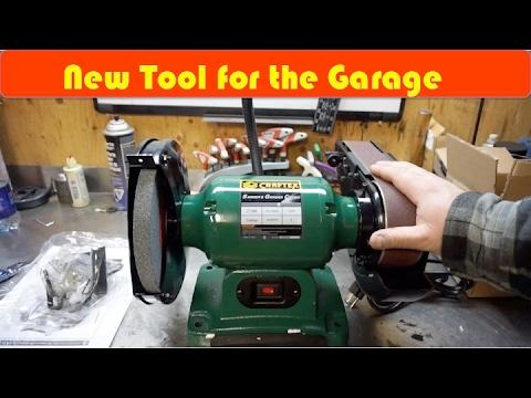 New Craftex CT169n Bench Grinder Sander