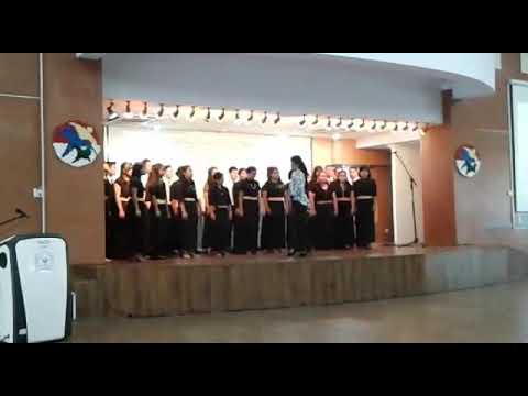 Mars Universitas Negeri Medan dinyanyikan oleh Peserta PPG angkatan 5 di acara Hari Lahir SM3T