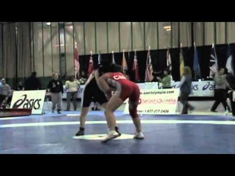 2009 Senior National Championships: 51 kg Jenn Nguyen vs. Vanessa Brown