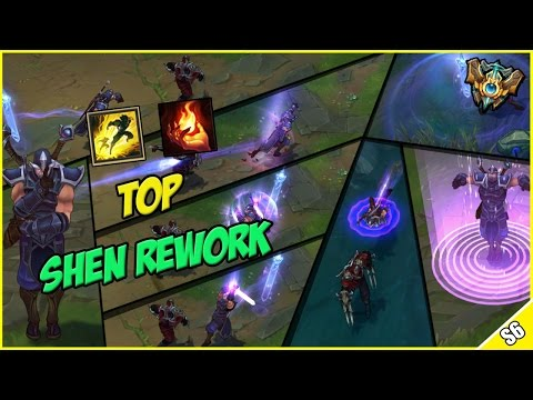 ✔ SHEN REWORK TOP LANE GAMEPLAY - PBE Live Commentary | League of Legends