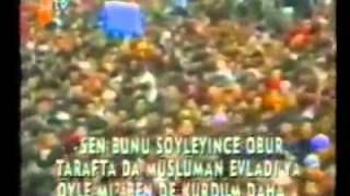 Erbakan'a 1 Yıl Hapis Cezası Getiren Tarihi Konuşması
