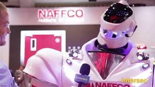 Intersec 2019: Robo NAFFCO and Eng. Khalid Al Khatib at the NAFFCO stand
